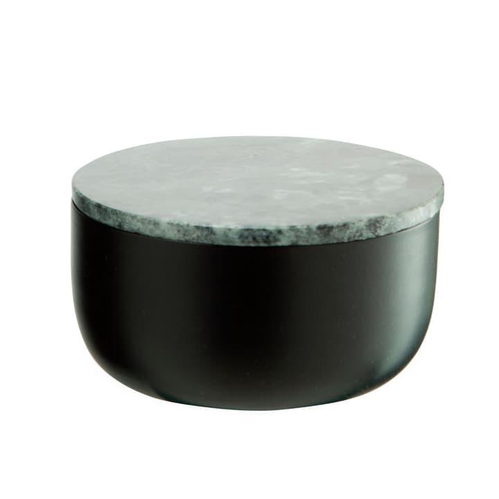 MARBLE Boîte de rangement 386212400000 Dimensions L: 12.0 cm x P: 12.0 cm x H: 7.0 cm Couleur Noir Photo no. 1