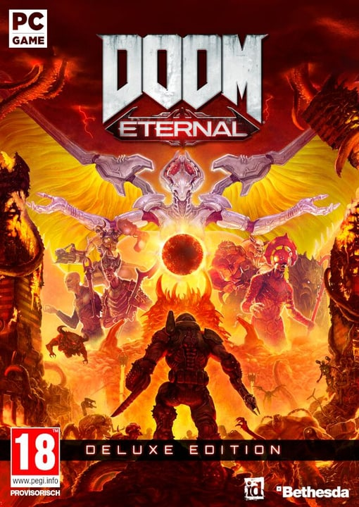 PC - DOOM Eternal Deluxe Edition F Box 785300147334 Photo no. 1
