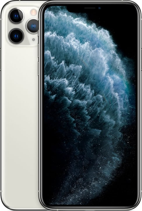 iPhone 11 Pro Max 256GB Silver Smartphone Apple 794647100000 Couleur argent Photo no. 1