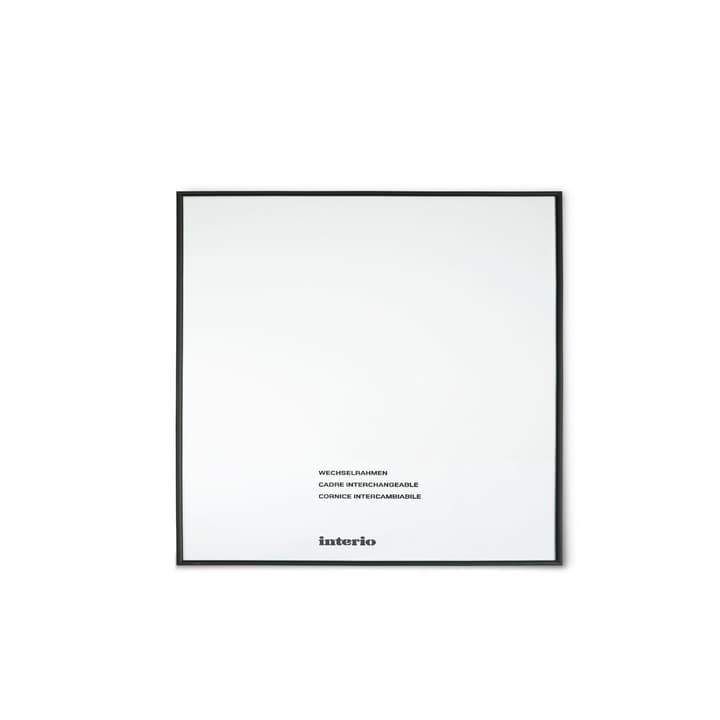 BRASILIA Cornice 384002846401 Dimensioni quadro 30 x 30 Colore Nero N. figura 1