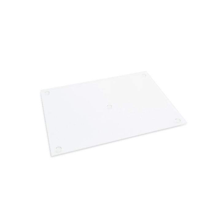 TAGLIO Tagliere Moha 393004575209 Dimensioni L: 30.0 cm x P: 22.5 cm x A: 0.38 cm Colore Trasparente N. figura 1