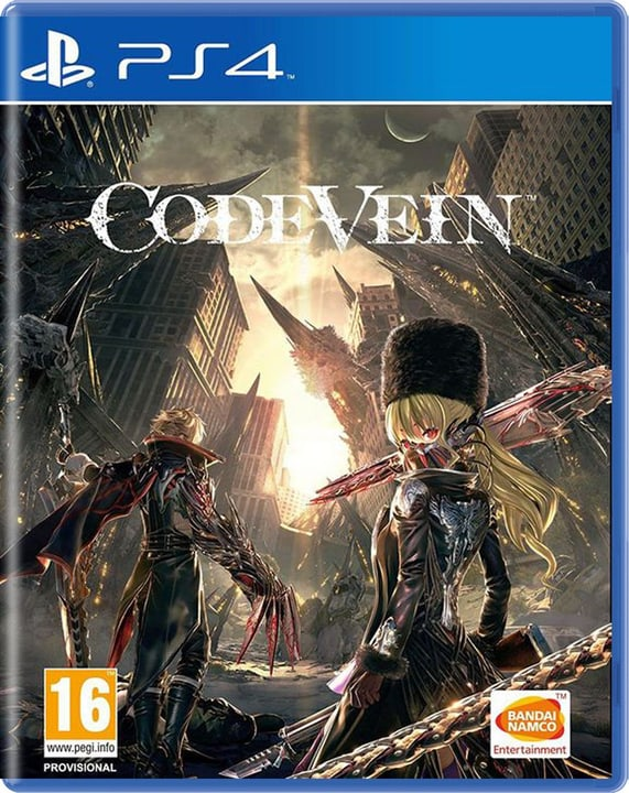 Code Vein (PS4) (D/F/I) Box 785300132127 Photo no. 1