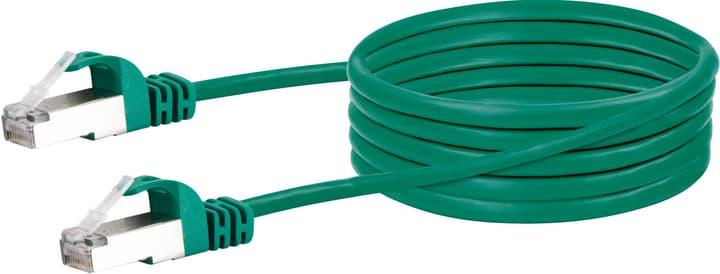 Cavo di reticolato S/FTP Cat. 6 1m verde Schwaiger 613187500000 N. figura 1