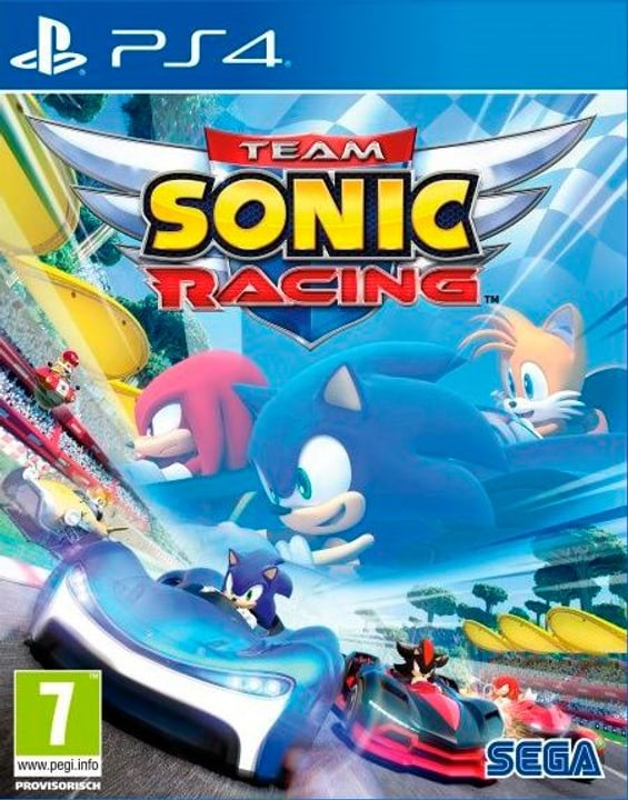 PS4 - Team Sonic Racing Box 785300138607 Langue Français Plate-forme Sony PlayStation 4 Photo no. 1