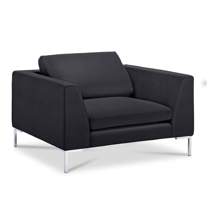 NEWTON Matrix Sessel 360052418501 Grösse B: 110.0 cm x T: 102.0 cm x H: 80.0 cm Farbe Schwarz Bild Nr. 1