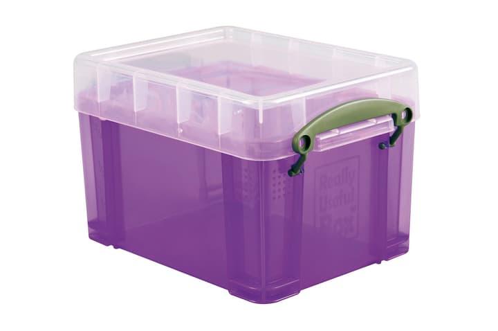 Box di plastica 3L Really Useful Box 603732000000 Taglio L: 16.0 x L: 18.0 x A: 24.5 Colore Viola N. figura 1