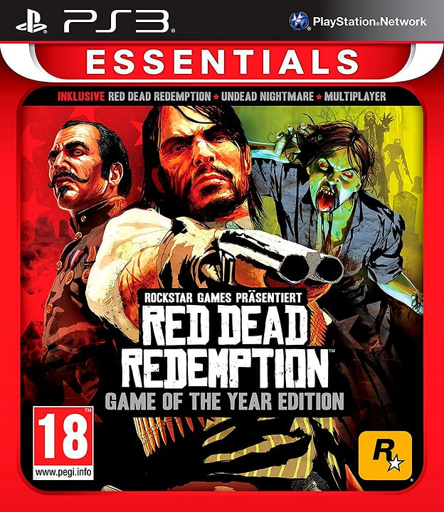 PS3 - Red Dead RedemptGOTY Essentials Box 785300121726 N. figura 1