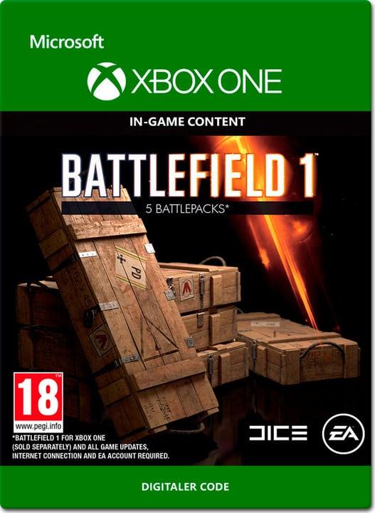 Xbox One - Battlefield 1: Battlepacks x5 Digital (ESD) 785300137306 Photo no. 1