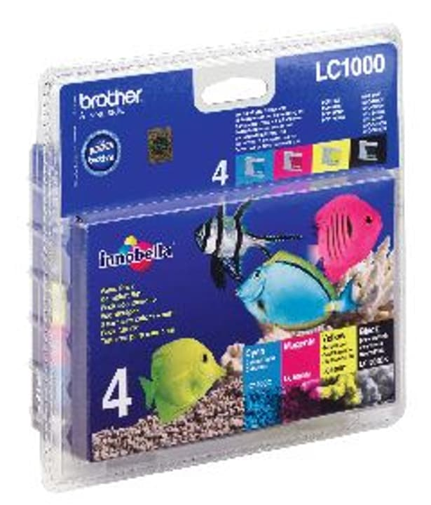 LC-1000VALBP Multipack cartouches d'encre Cartouche d'encre Brother 797500500000 Photo no. 1