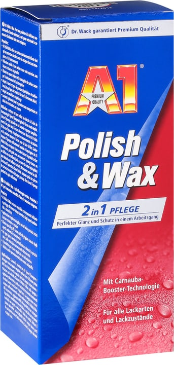 Polish & Wax Pflegemittel A1 620804400000 Bild Nr. 1