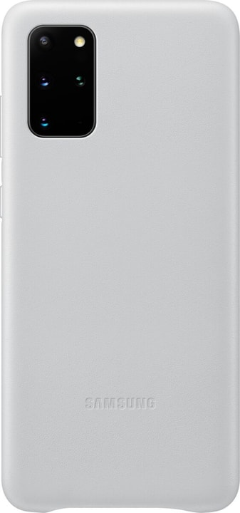 Hard-Cover Leather light gray Coque Samsung 785300151214 Photo no. 1