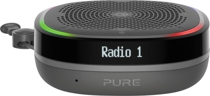 StreamR Splash - Charcoal DAB+ Radio Pure 773025300000 Bild Nr. 1