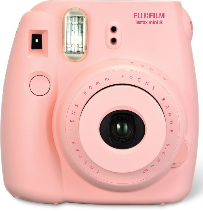 Instax Mini 8 pink Sofortbildkamera FUJIFILM 793410300000 Bild Nr. 1