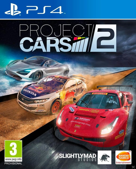 PS4 - Project CARS 2 Box 785300122243 Photo no. 1