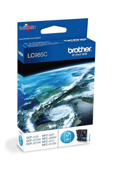 LC-985C   cyan Tintenpatrone Brother 796010400000 Bild Nr. 1