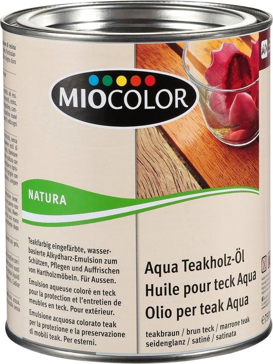 Aqua Teakholz-Öl Teak braun 750 ml Miocolor 661118500000 Bild Nr. 1