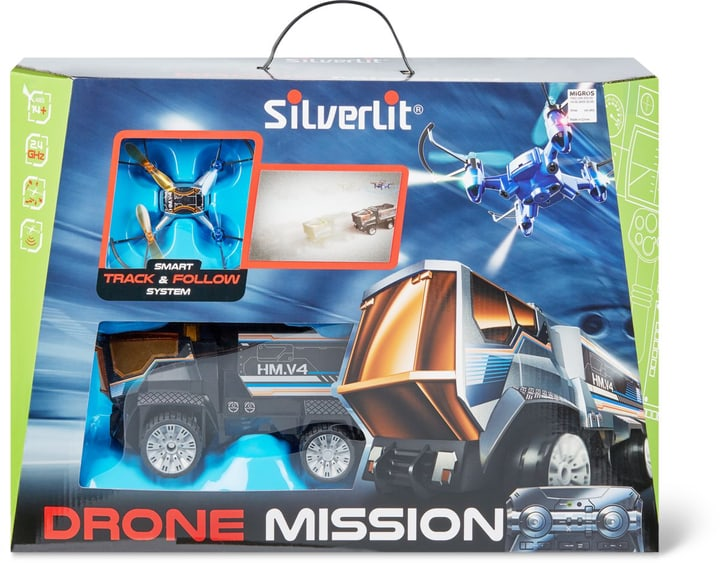 Silverlit Drone Mission avec Truck 746220600000 Photo no. 1