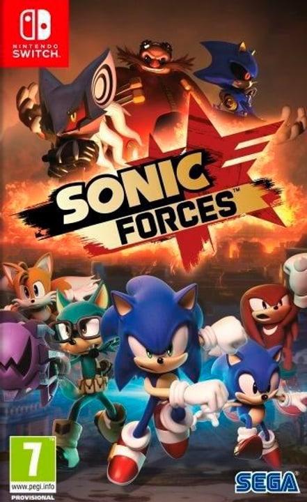 NSW - Sonic Forces - Bonus Edition I Box 785300130014 Photo no. 1