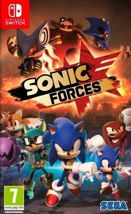 NSW - Sonic Forces - Bonus Edition I Fisico (Box) 785300130014 N. figura 1