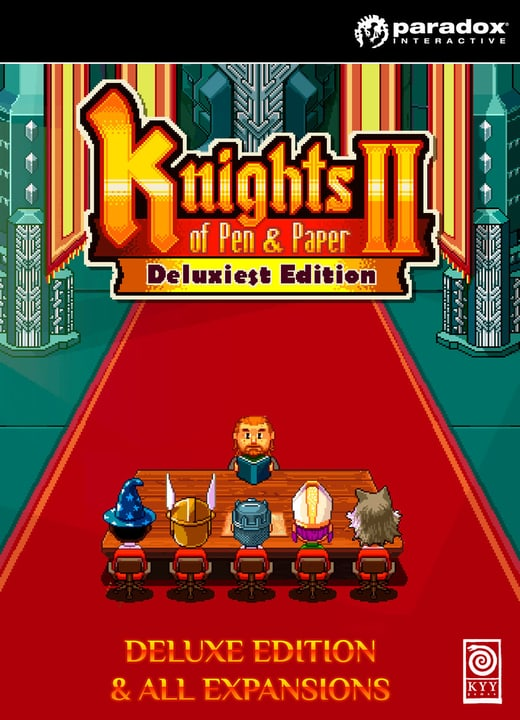 PC/Mac - Knights of Pen and Paper 2: Deluxiest Edition Download (ESD) 785300134191 N. figura 1