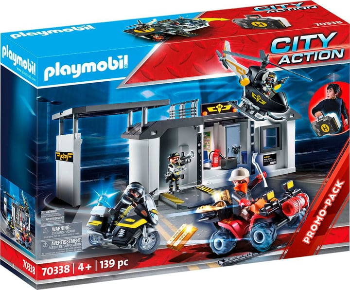 PLAYMOBIL 70338 SEK-Zentrale 748025400000 Bild Nr. 1