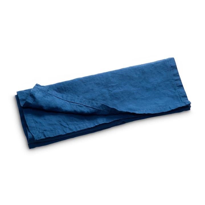 LINEN Chemin de table 378064700000 Couleur Bleu outremer Dimensions L: 150.0 cm x P: 50.0 cm Photo no. 1