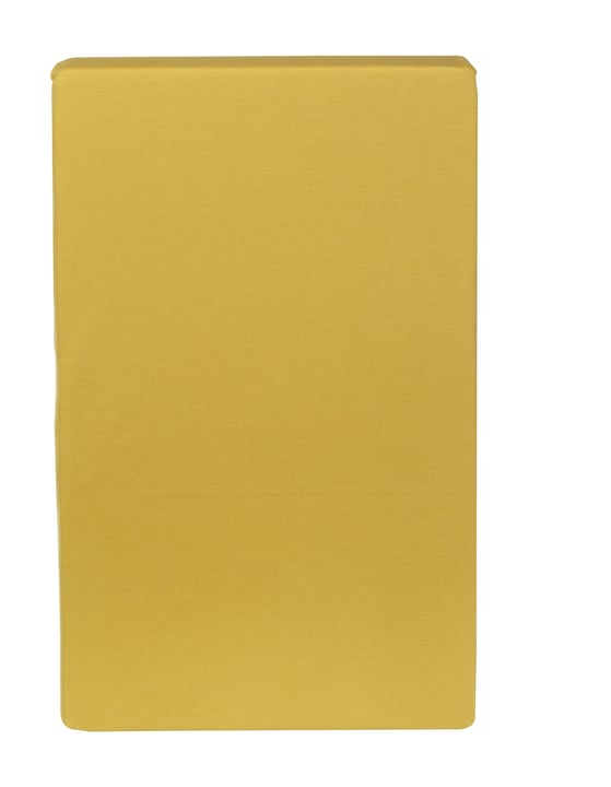 CARLOS Drap-housse en jersey 451033230550 Couleur Jaune Dimensions L: 180.0 cm x H: 200.0 cm Photo no. 1