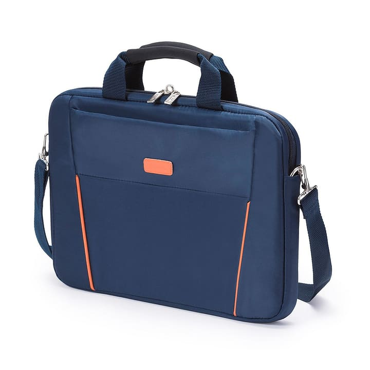 "Slim Case Base,14-15.6"", Notebook Bag, blau/orange Dicota 797943000000"