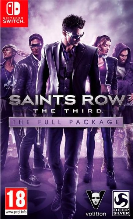 NSW - Saints Row: The Third - The Full Package Box 785300142918 Lingua Italiano Piattaforma Nintendo Switch N. figura 1