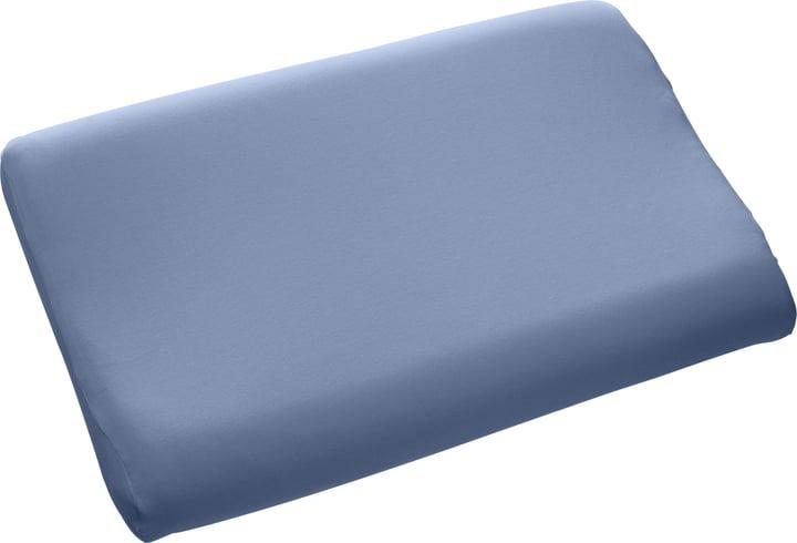 VITALE Taie oreiller à mémorie de forme 451172510541 Couleur Bleu Dimensions L: 60.0 cm x P: 50.0 cm x H: 30.0 cm Photo no. 1