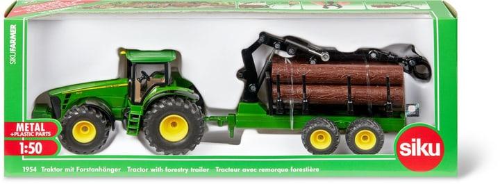 Traktor mit Forstanhänger 746220200000 Bild Nr. 1