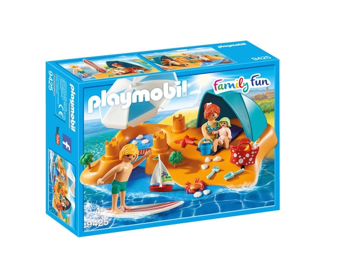 Playmobil Familie am Strand 746097300000 Bild Nr. 1