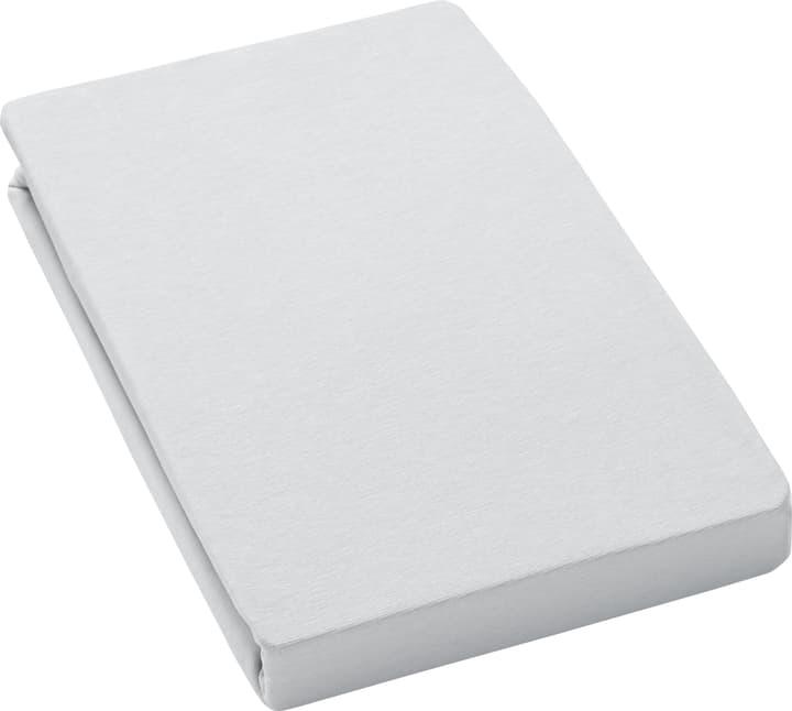 LANA drap-housse 451052030580 Couleur Gris Dimensions L: 160.0 cm x P: 200.0 cm Photo no. 1