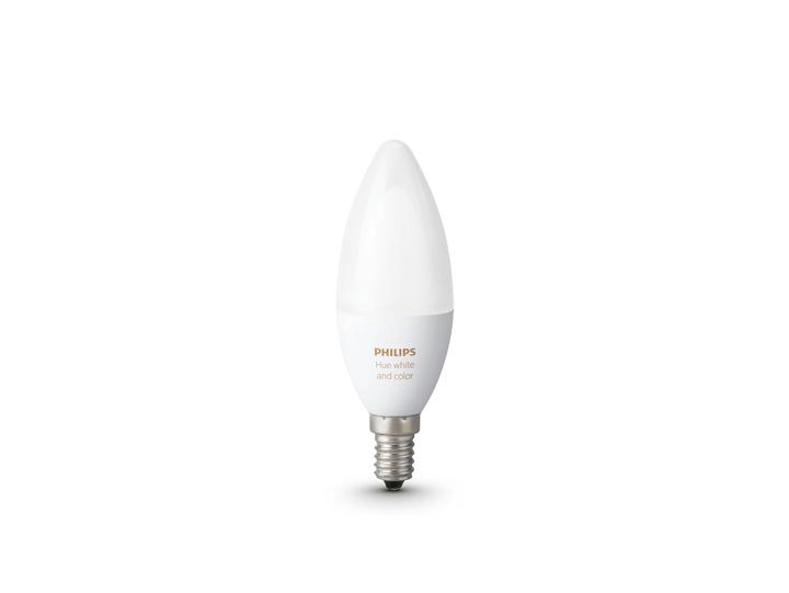 HUE White & Color Ambiance 1x E14 6.5W Philips 421056400000 Photo no. 1
