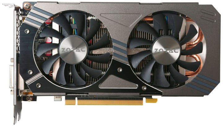 GeForce® GTX 1060 AMP Edition Carte graphique ZOTAC 785300137638 Photo no. 1