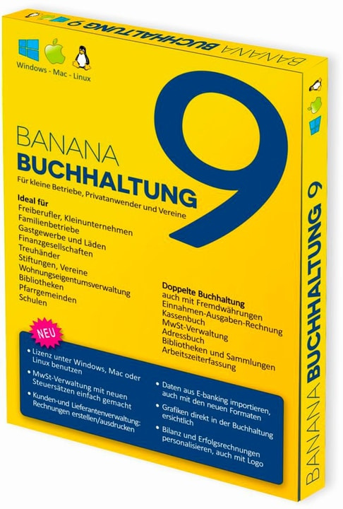 Banana PC/Mac - Banana Accounting 9 Fisico (Box) 785300131692 N. figura 1