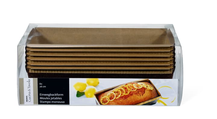 Einwegbackform Cucina & Tavola 703985400000 Bild Nr. 1