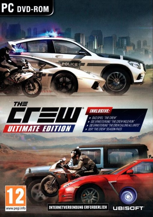 PC - The Crew Ultimate Edition Box 785300122187 Bild Nr. 1