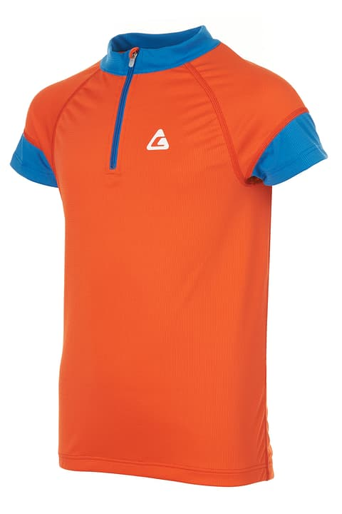 Maillot de V.T.T. pour garçon Crosswave 462875916435 Couleur orange foncé Taille 164 Photo no. 1