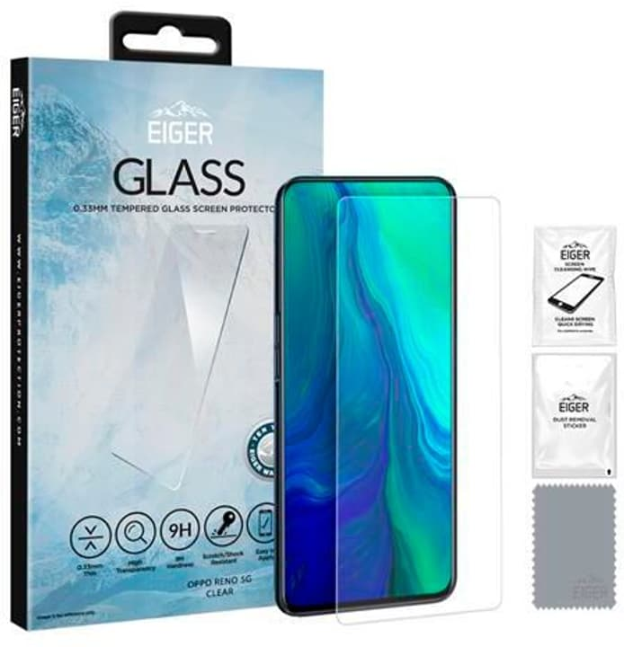 "Display-Glas ""Case friendly"" Protection d'écran Eiger 785300148345 Photo no. 1"