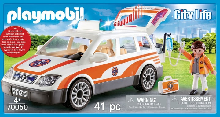 Playmobil 70050 Ambulanciers 744554500000 Photo no. 1