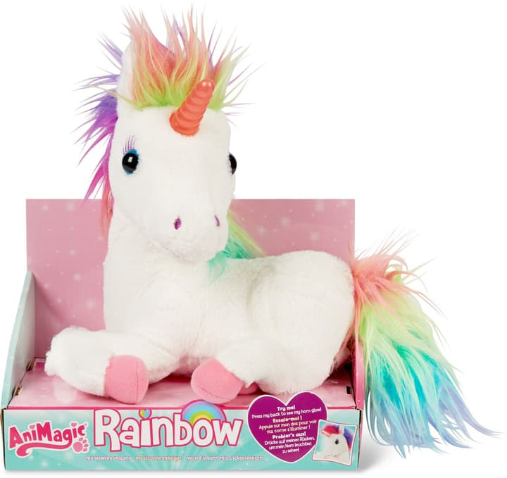 Animagic Rainbow il mio unicorno luminoso 746758800000 N. figura 1