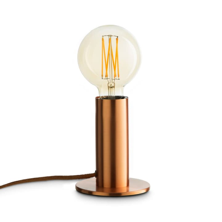 SOL II Lampada da tavolo 380040400000 Dimensioni L: 11.5 cm x P: 11.5 cm x A: 24.0 cm Colore Color rame N. figura 1