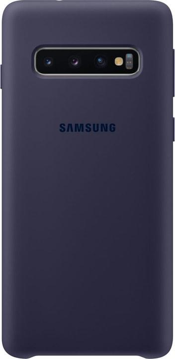 Silicone Cover Navy Custodia Samsung 785300142440 N. figura 1