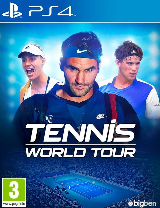 PS4 - Tennis World Tour (D/F) Box 785300132950 N. figura 1