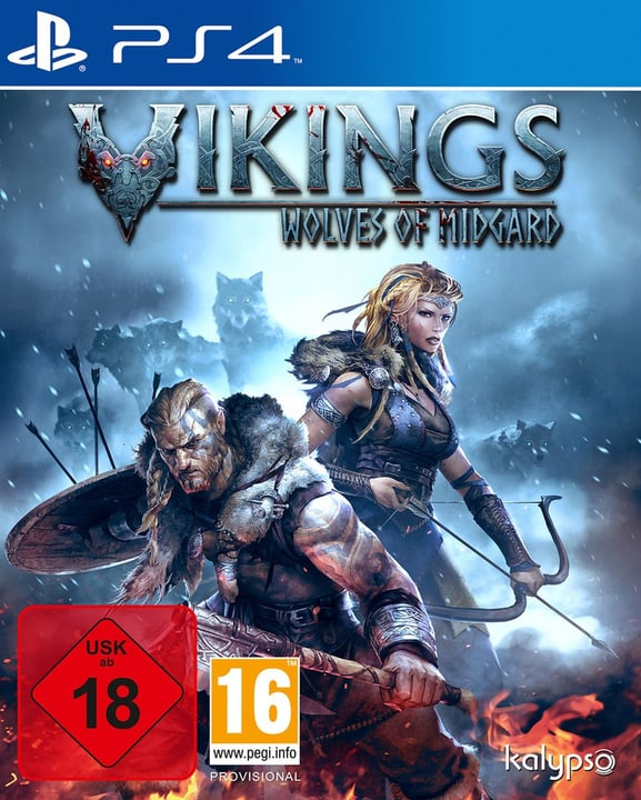 PS4 - Vikings - Wolves of Midgard Physique (Box) 785300121779 Photo no. 1