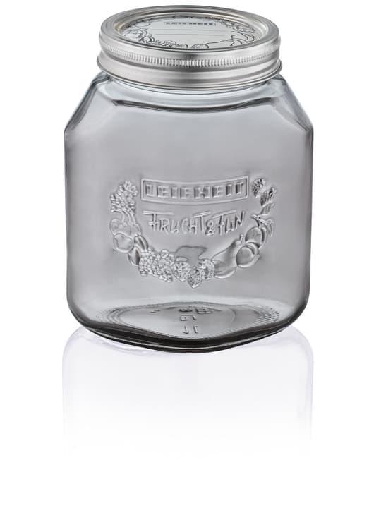 Vasetto per Conserve 1 l smoky grey LEIFHEIT 675490300000 N. figura 1