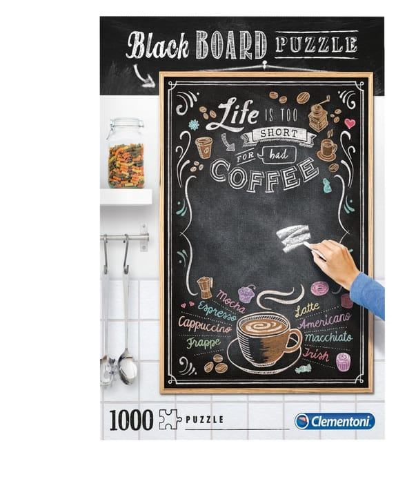 Blackboard Puzzle 1000 Teile Clementoni 748987700000 Bild Nr. 1