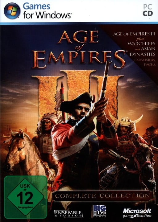 PC - Pyramide: Age of Empires III Complete Collection Physique (Box) 785300121617 Photo no. 1
