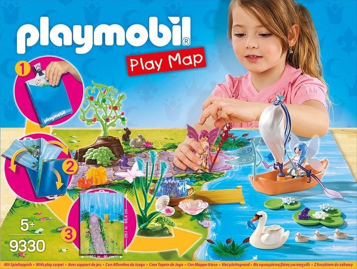 Playmobil Play Map - Il lago delle Fate 746093300000 N. figura 1